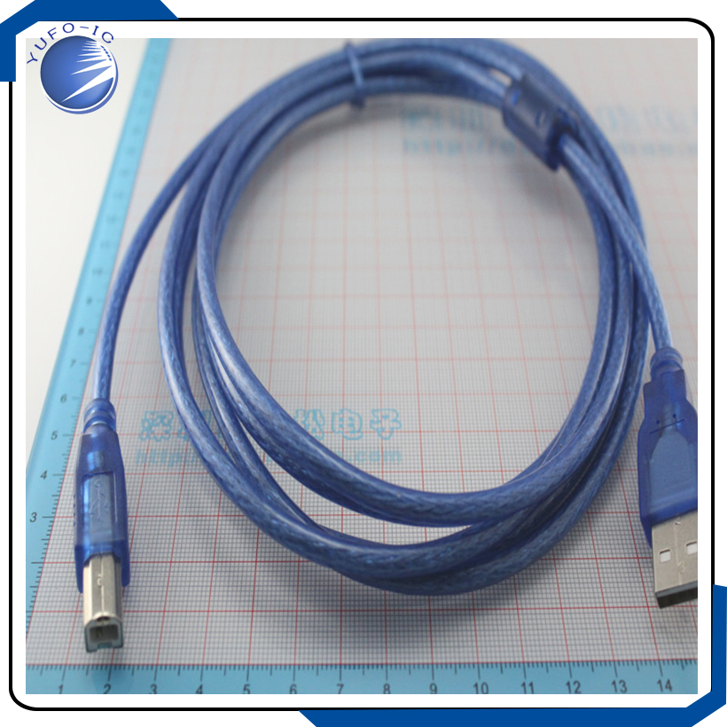 1pcs 3 meters full copper ring USB printer cable wire USB port cable ...