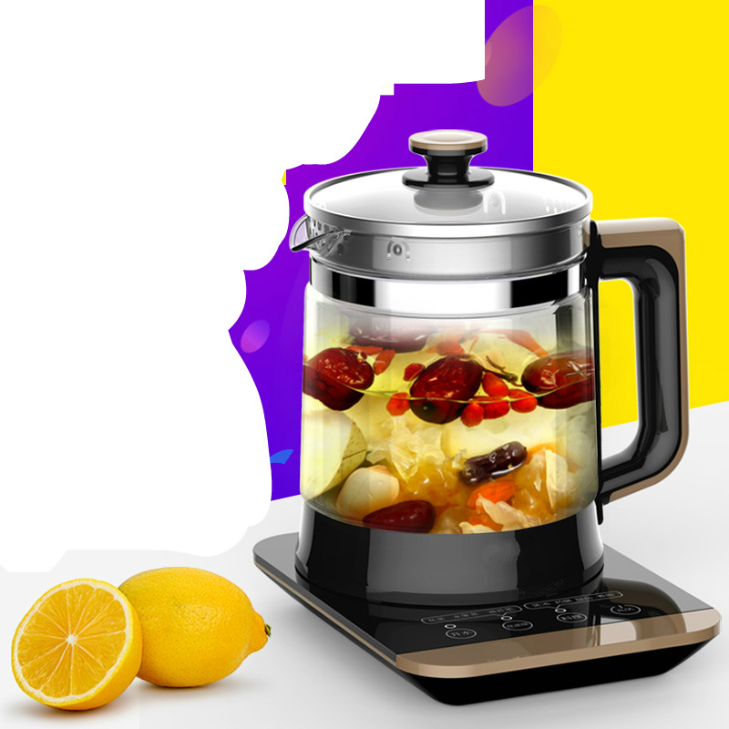 все цены на Electric kettle Curing pot fully automatic multi-function thickening glass tea decoct Chinese traditional Overheat Protection онлайн