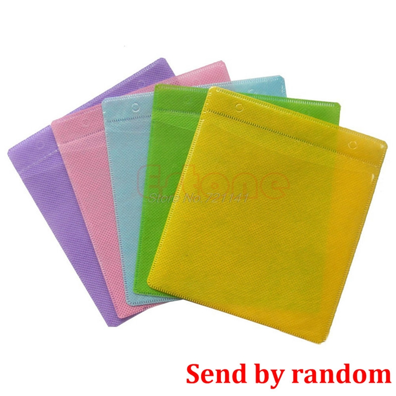 100PC/Set CD DVD Disc Double Side Cover Storage Case Bag Sleeve Envelope Holder Electronics Stocks