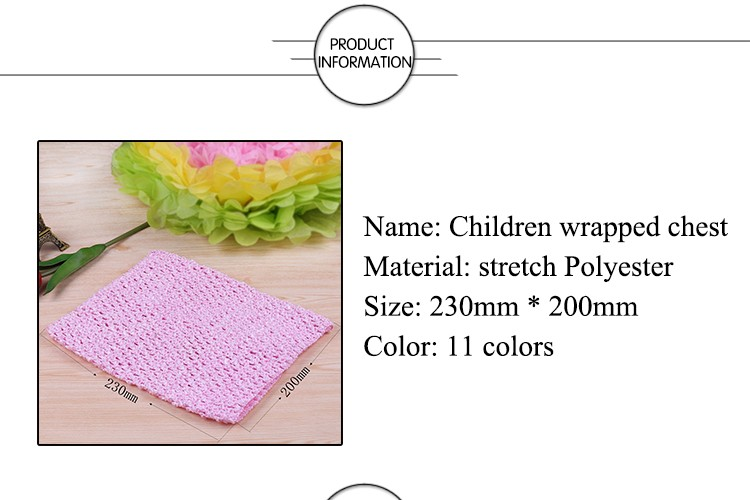 FENGRISE X23cm Tulle Spool Tutu Crochet Chest Wrap Tube Tops Apparel Sewing Knit Fabric Girl Birthday Gifts Headbands Skirt 3