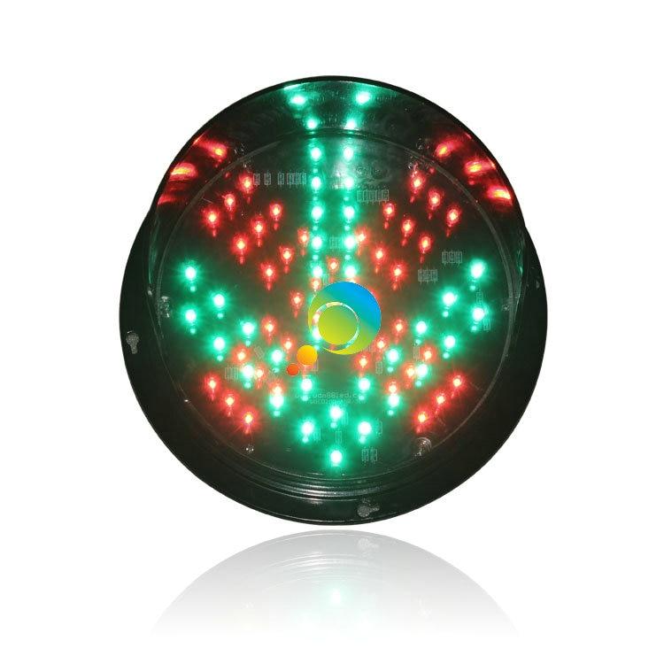 DC12V Or DC24V New Design 200mm Red Cross Green Arrow Signal Light LED Traffic Light Lampwick