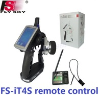 Flysky FS iT4S Transmitter 2.4GHz AFHDS 2 4CH Gun RC Car Radio System FS IA4B receiver remote Control iT4S PK FS iT4 Transmitter