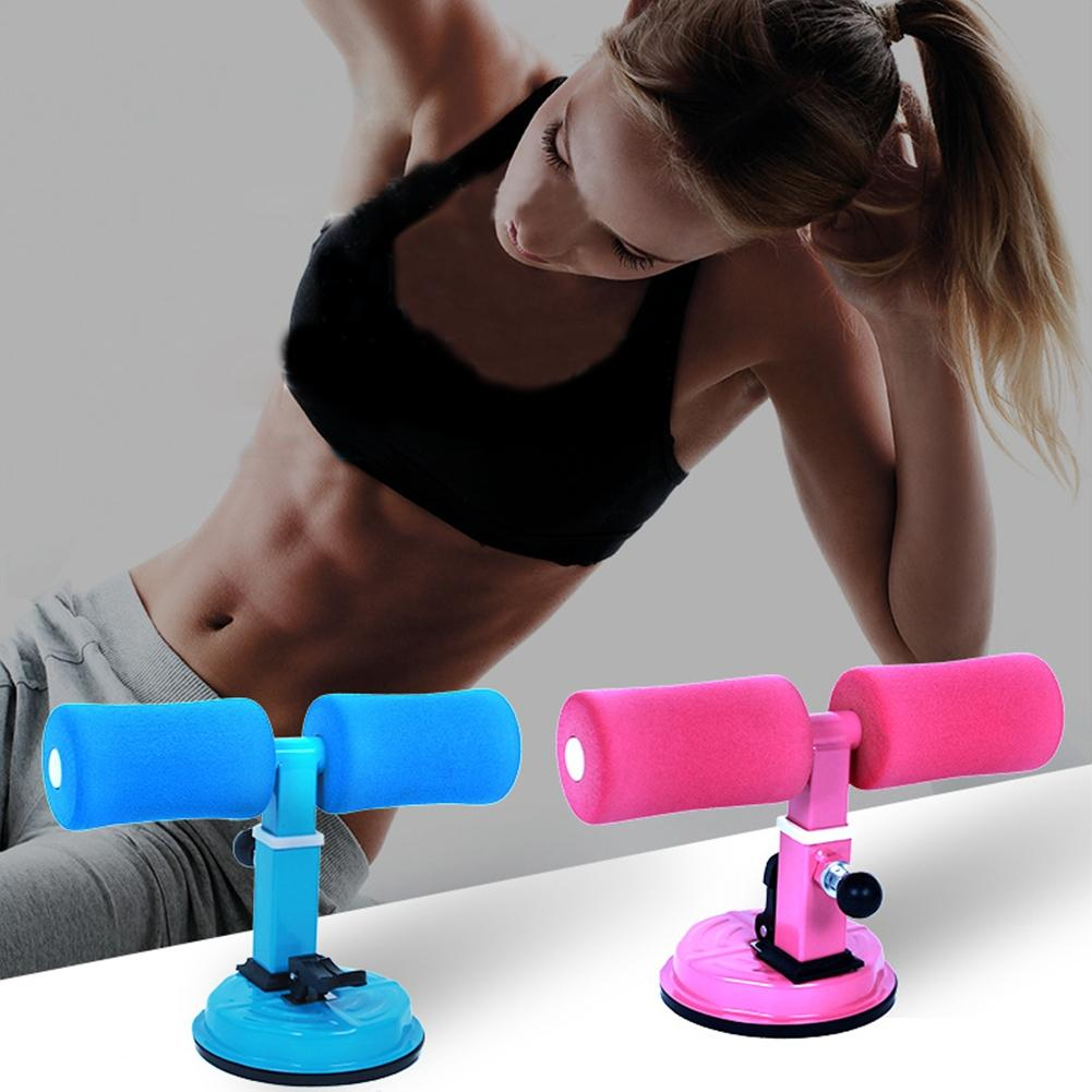 LumiParty Portable Sit-ups Fitness Equipment with Sucker for Bodybuilding Fitness Slimming Training Exercise