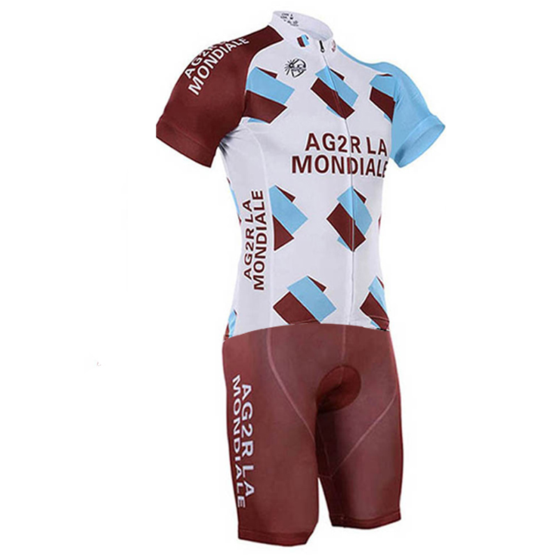 pro team AG2R Cycling skinsuit men cycling set Short sleeve summer bodysuit bike clothing MTB Ropa Ciclismo speedsuit-in Cycling Sets from Sports & Entertainment on AliExpress - 11.11_Double 11_Singles' Day 1