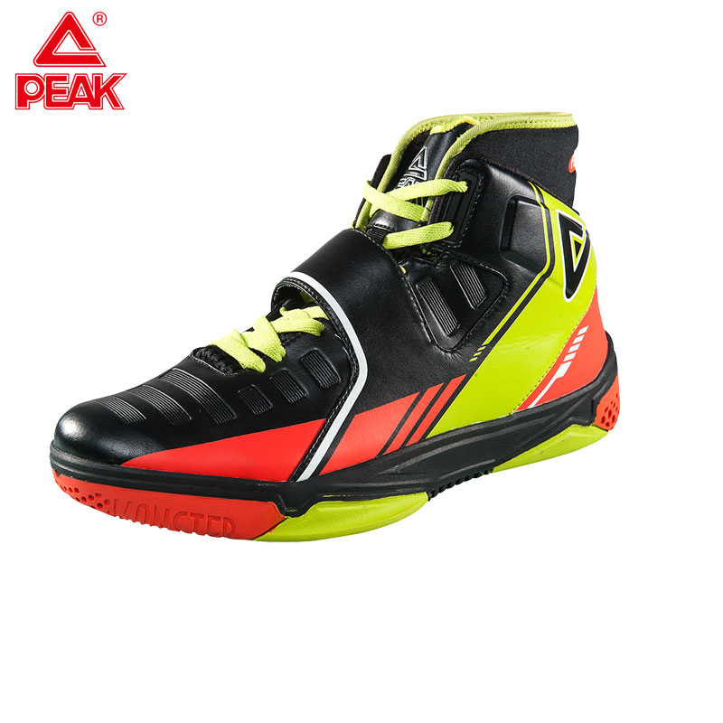 PEAK Men's  Basketball Shoes Monster Series Cushion High cut Sneaker спальный мешок high peak highland