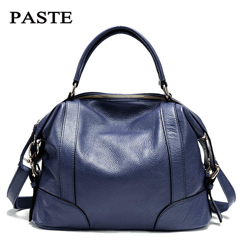 2017 Fashion Brand Design Women Bag Handbags Genuine Cow Leather Women Totes Autumn&Winter Shoulder Bag Cowhide Messenger Bags luxury genuine leather bag fashion brand designer women handbag cowhide leather shoulder composite bag casual totes