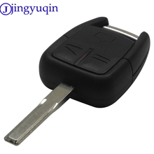 jingyuqin 3 Buttons Car Remote Key Shell Cover Case Flip Fob Styling Blank For Vauxhall Opel Vectra Astra Z For Omega