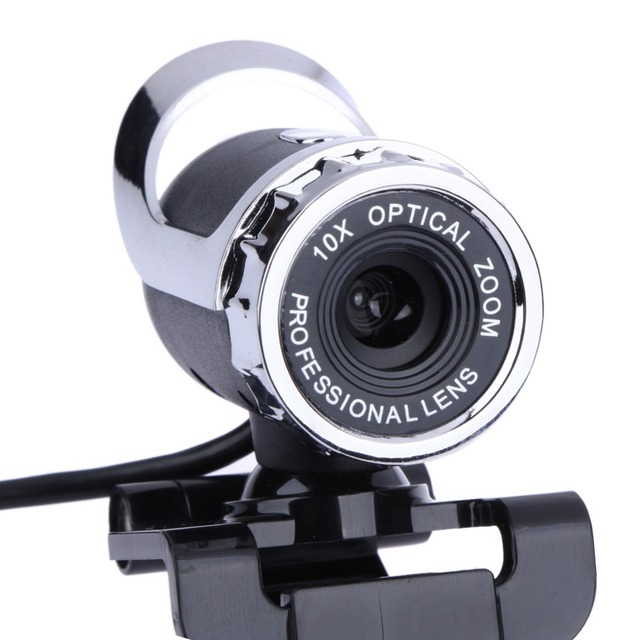 Web Camera USB High Definition Webcam Web Cam 360 Degree MIC Clip-on for Skype for Youtube Computer PC Laptop Notebook Camera