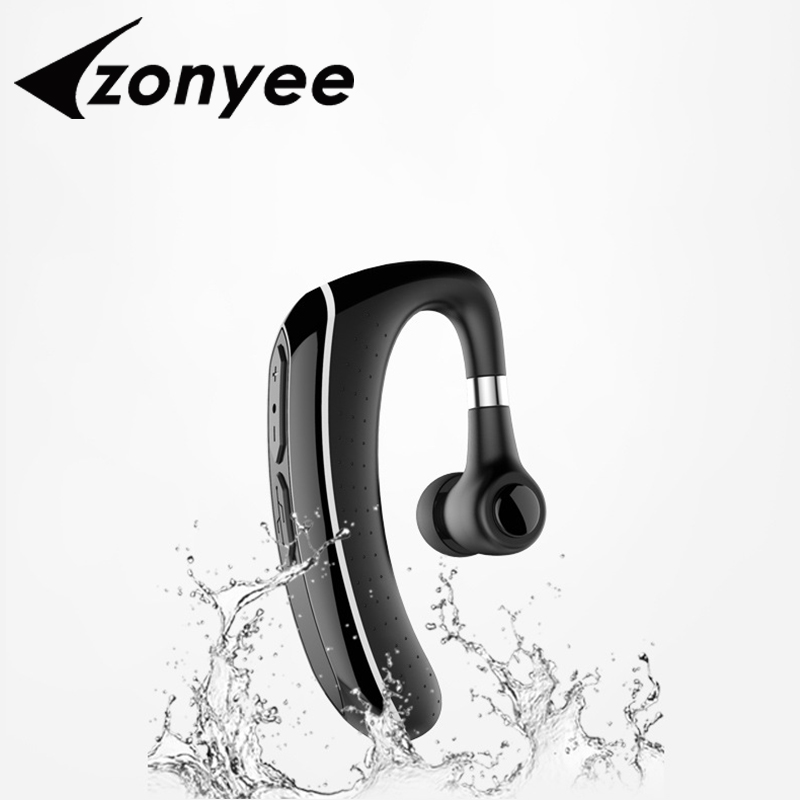Zonyee Legend S1 Bluetooth Earphone Headsets Wireless Handsfree HD Mic Business Bluetooth Headphone For Samsung iPhone XiaoMi