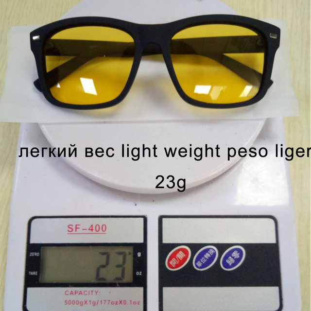 Men's Night Vision Glasses for Driving Anti-Glare Polarized Lens 4
