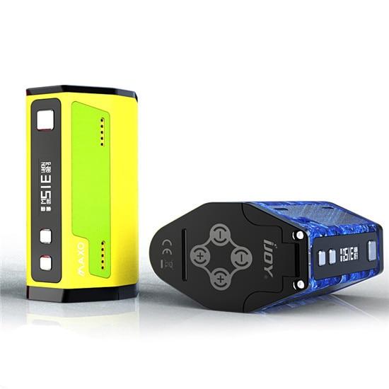 100% оригинал IJOY maxo Quad 18650 коробка mod 315 Вт создано quad или два 18650 Аккумуляторы Электронные сигареты Для тела моды