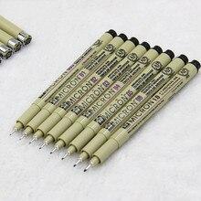 Знать микрон пером fine line эскиз пера линия рисунок крюк живопись