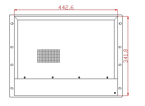 8U 17 inch Rack Panel panel, Core i3-3217U CPU, 4 GB RAM, HDD 500 GB, - Calculatoare industriale și accesorii - Fotografie 4