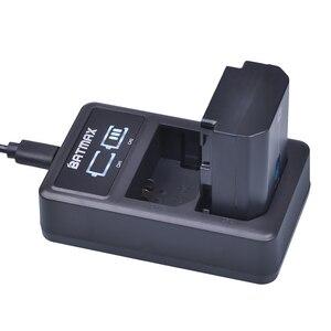 Image 4 - 2 pces 2280mah NP FZ100 bateria akku + led usb carregador duplo para sony ILCE 9 a7m3 a7r3 a9 a9r 7rm3 BC QZ1 câmeras