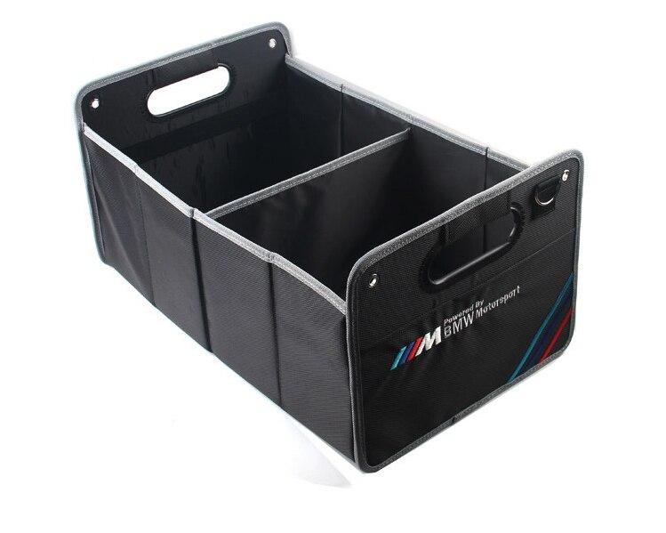 Автомобиль для хранения сумку коробка для хранения, многофункциональная, для BMW M эмблема E46 F10 E90 F30 E60 F20 E39 X3 E36 X5 X1 E53 F30 E34 автомобильные аксесс