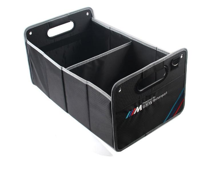 Stockage De voiture Recevoir Sac Boîte De Rangement Multi POUR BMW M Emblème E46 F10 E90 F30 E60 F20 E39 X3 E36 X5 X1 E53 F30 E34 Accessoires De Voiture