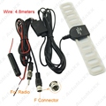 2in1 del coche TV Digital DVB-T FM/Radio Antena Amplificador Booster conector F # J-897