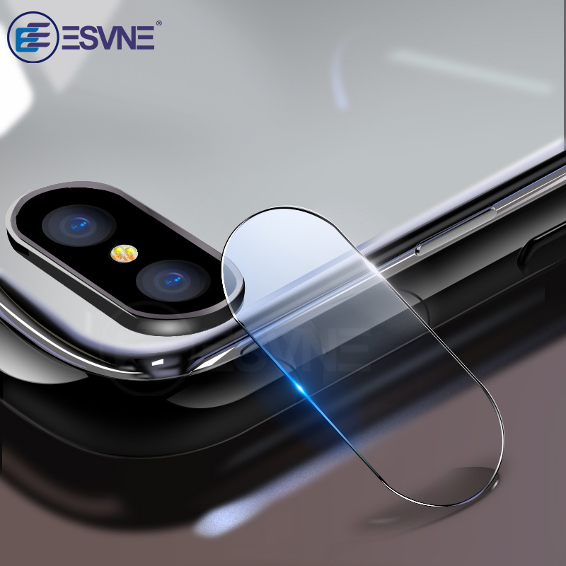 ESVNE 2pcs/Lot HD Glass For iphone 8 Back Camera Lens Screen Protector Tempered Film iPhone Plus protective glass