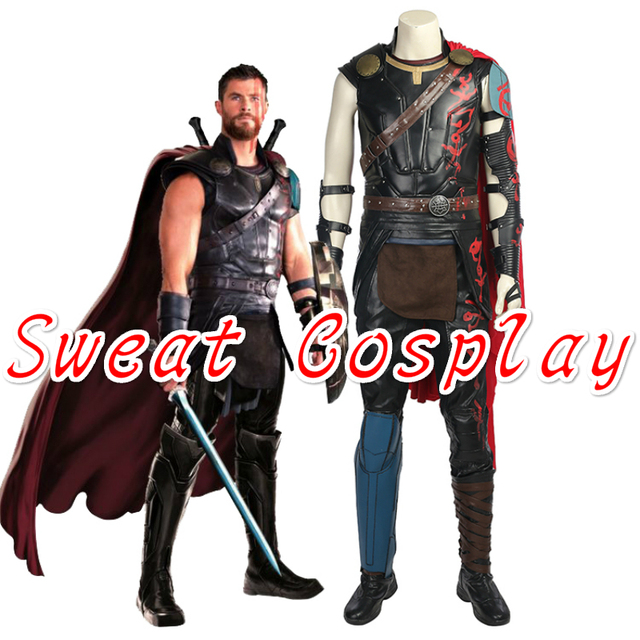 high quality thor ragnarok odinson cosplay costume halloween costumes for adult men thor 3 superhero thor