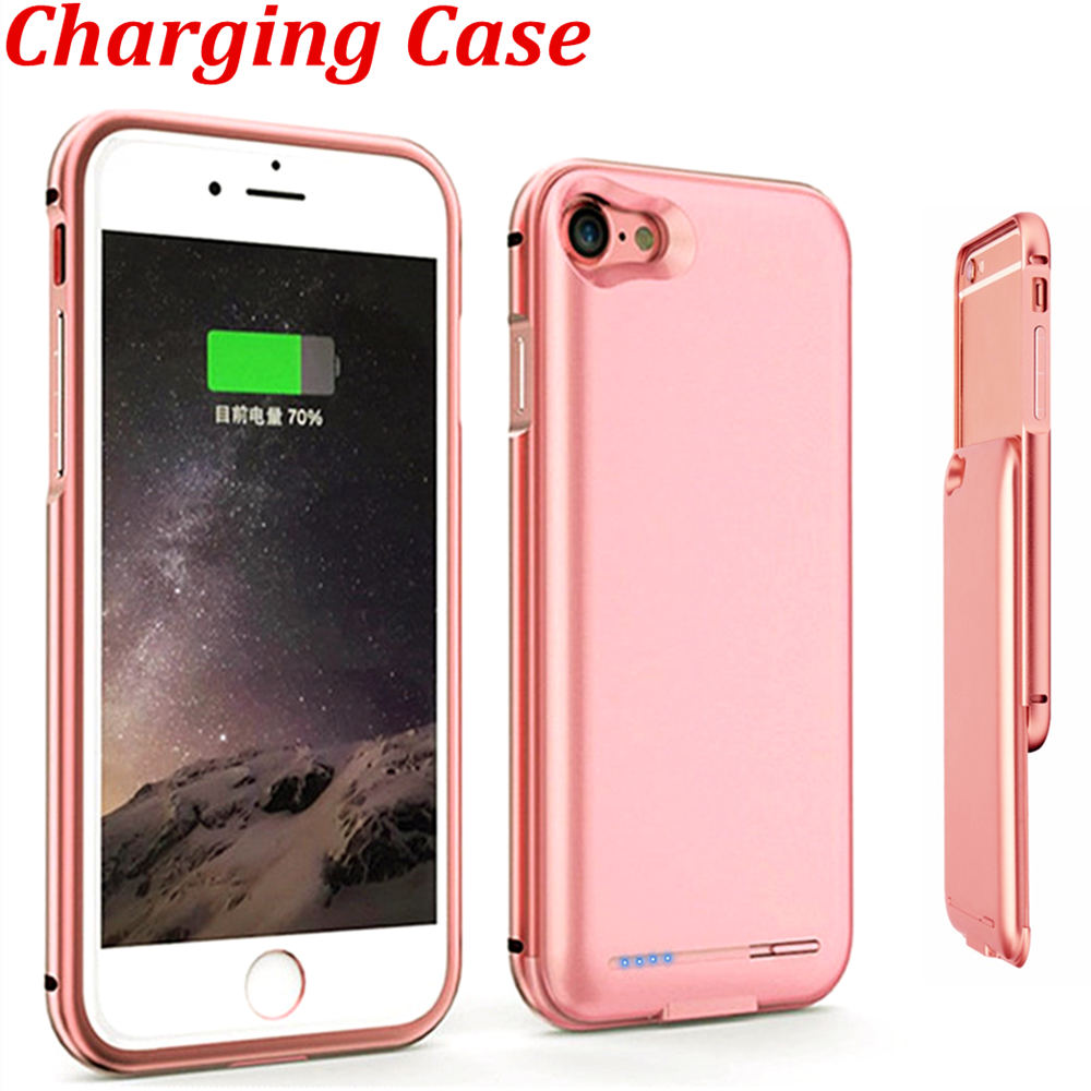 bumper frame case charger for iphone 7 accessory for. Black Bedroom Furniture Sets. Home Design Ideas