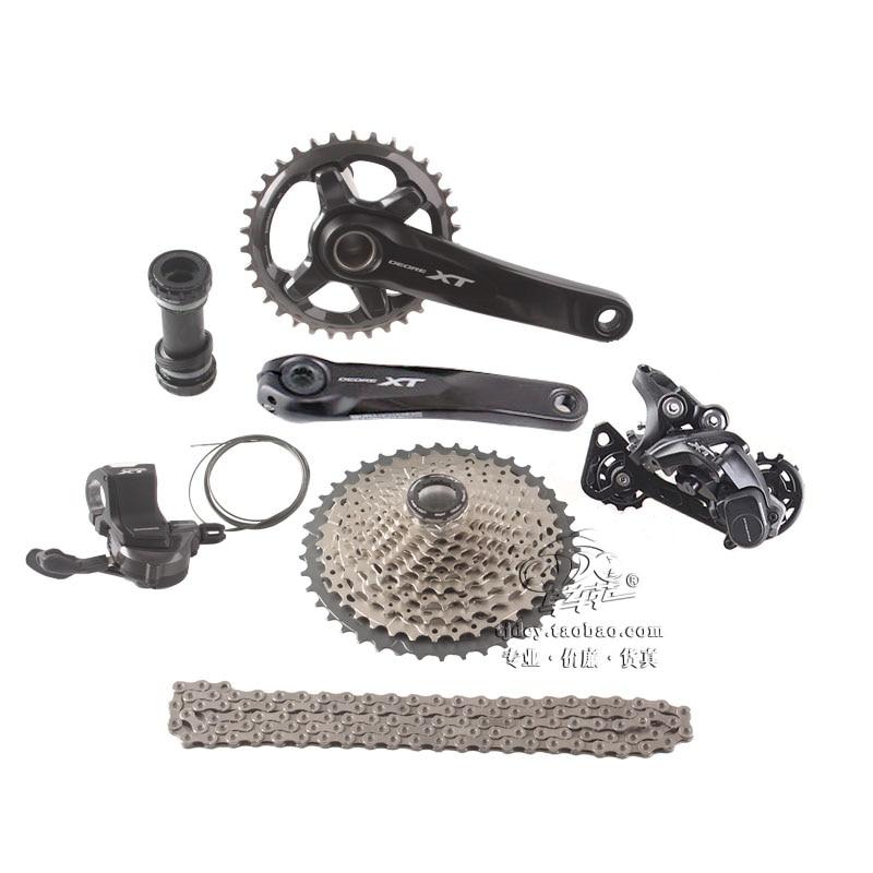 SHIMANO DEORE XT M8000 1x11 11 s Vitesse 34 t 170mm 11-42 t 11- 46 t VTT VTT Vélo