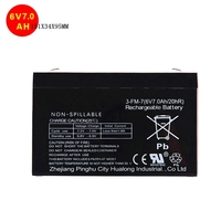 Best price for 6v 7ah lead acid battery toy accessories ups battery buggies rechargeable battery factory price 151X34X95MM