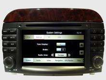 For Mercedes S-class W220 1998-2005 car radio gps with BT Phone Book/BT Music/RDS/FM/Bluetooth/USBIPod/SD/USB/DVD/FM/AM/2D/3Dmap