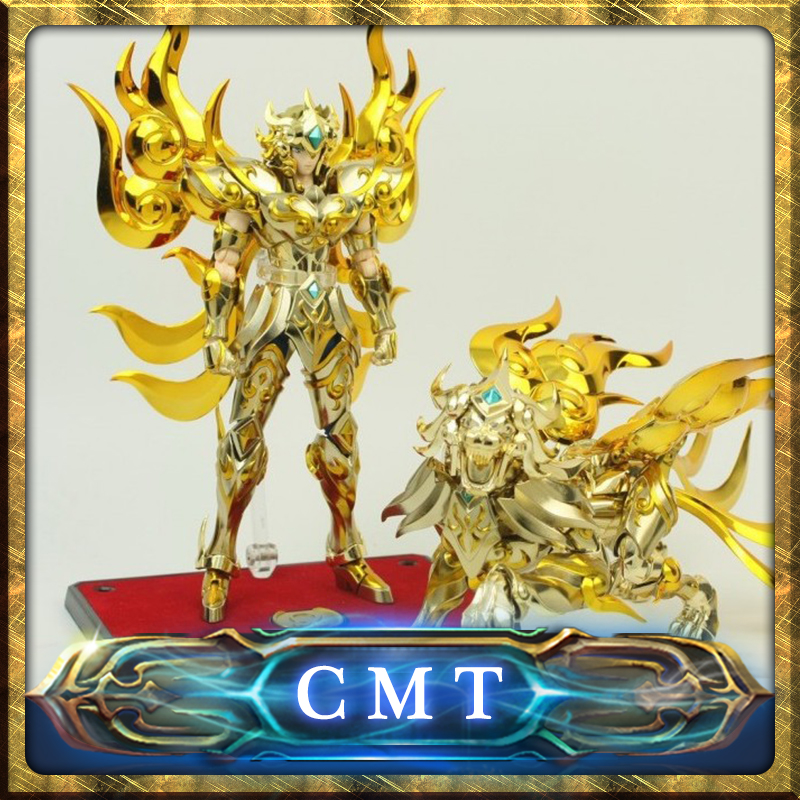 Insotck Now MetalClub EX God Leo Aiolia Saint Seiya metal armor Myth Cloth Gold Ex Action Figure
