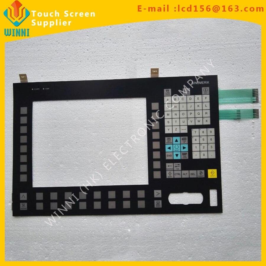 Membrane keypad for OP012 6FC5203-0AF02-0AAL