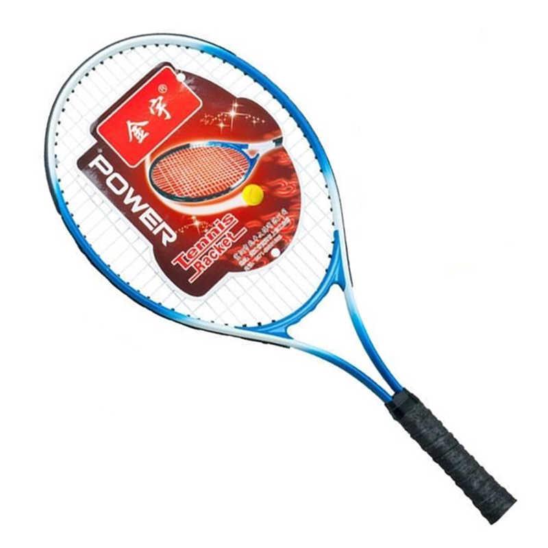 Beginner Tennis Racket Light Carbon-titanium Material OS Racket Surface For Men Women Training And Learning
