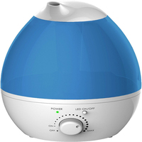 Cool Mist Ultrasonic Humidifiers Whisper Quiet 7 Color LED Lights Auto Shut off For Home Bedroom Baby Room Office