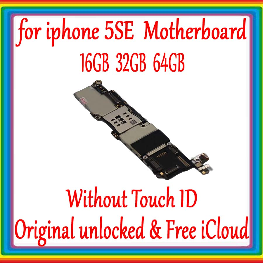 for iphone 5SE SE Motherboard without Touch ID,Original unlocked for iphone SE Mainboard with Full Chips,IOS System Logic boardsfor iphone 5SE SE Motherboard without Touch ID,Original unlocked for iphone SE Mainboard with Full Chips,IOS System Logic boards