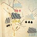 Ins Мода Детские Clauds Подушки, многофункциональный Детские Подушки С Трикотажные Ручной Работы капли Воды, Детская Комната настенные Украшения