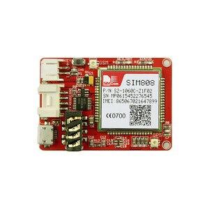 Image 3 - Elecrow crowtail sim808 모듈 gprs gsm gps 개발 보드 3.7 v 리튬 배터리가 장착 된 gsm 및 gps 2 in one 기능 모듈