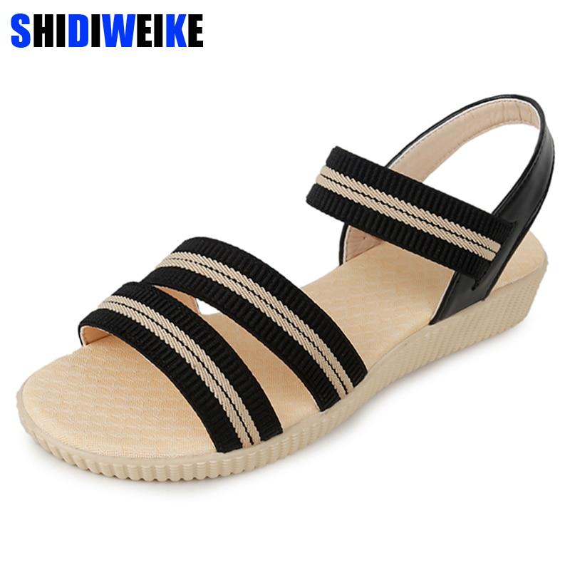 Women Sandals Plus Size 35-41 Summer women shoes woman Flip Flops Ladies Flat Sandals chaussure Sandalias m742 Women Sandals Plus Size 35-41 Summer women shoes woman Flip Flops Ladies Flat Sandals chaussure Sandalias m742