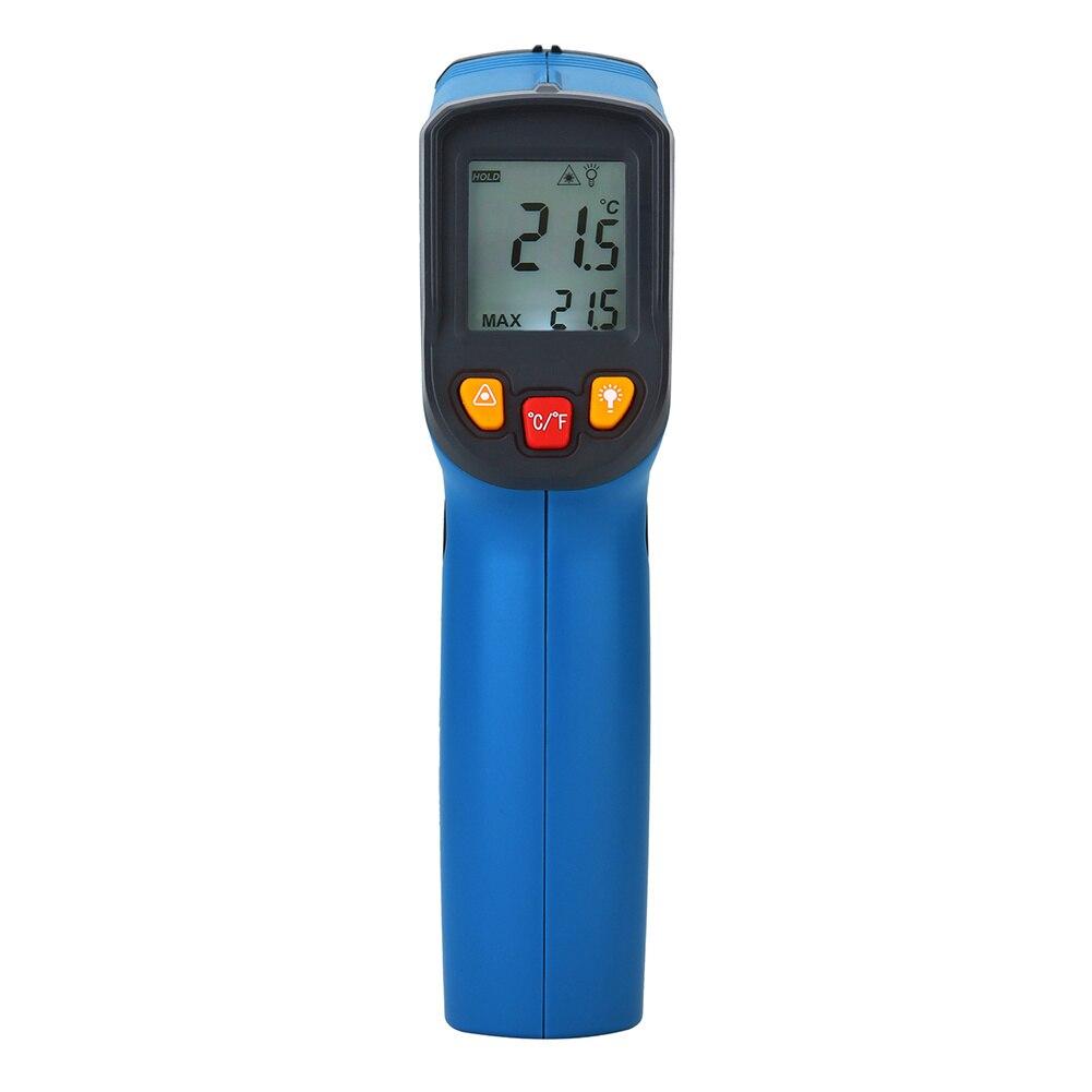 IR Infrared Digital Non-Contact Laser LCD Display Surface Temperature Pyrometer Imager Thermometer Gun цена