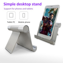 Mobile phone Stand Adjustable Multi-Angle Mini Portable Aluminum Tablet Holder For Phone for samsung