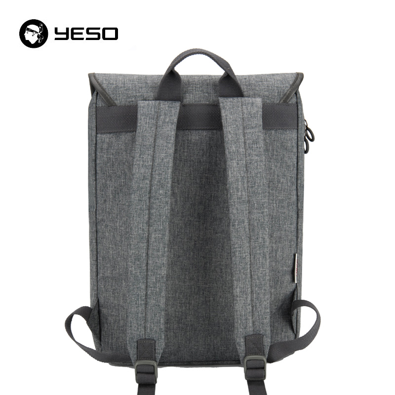 YESO New Desgin Casual Backpack Men 2018 Multifunction Women 15.6 Inch Laptop Backpack Patchwork Oxford Waterproof Unisex Bags