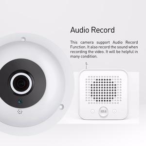 Image 3 - Audio Fisheye FHD 1920 x 1080P 2.0MP 3 Array LED Night Vision Panoramic IP Camera Security ONVIF P2P IP CCTV Cam System