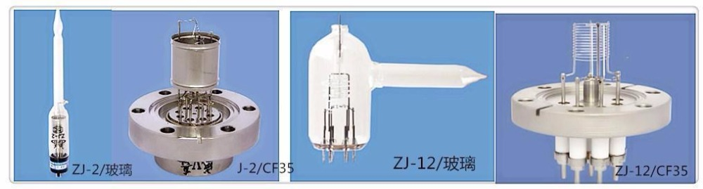 ZJ-12  Zj2 Vacuum Gauge Thermo Cathode Ionization Gauge Resistance Measuring Instrument  ZJ-2 ZJ-2/CF35 ZJ-2/KF40 ZJ-12/CF35