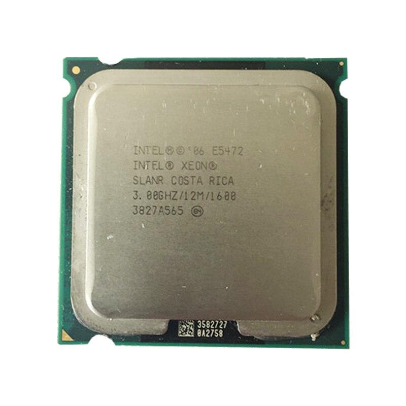 Intel E5472 CPU Processor /3.0GHz /12MB L2 Cache/ Quad- Core/ Works On LGA775 Motherboard