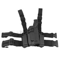Level 3 Serpa Tactical Drop Leg Holster W/ Platform Hunting Magazine Pouch Gun Holster for M9 M92 M96