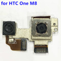 New Original For HTC One M8 One2 M8x Back Rear Big + Small Camera Set With Metal Bracket Connector Flex