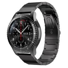 Pour Samsung Accessiory, Inoxydable Montre En Acier de Courroie De Bande En Métal Fermoir pour Samsung Gear S3 Engrenage Classique S3 Frontière/Classique montre