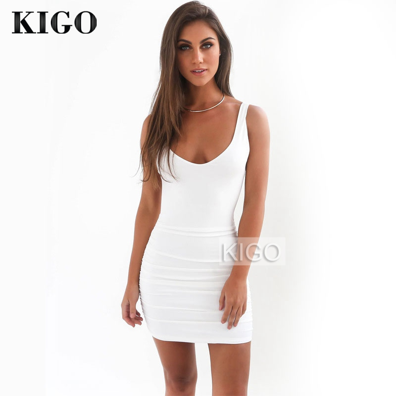 Online Get Cheap White Backless Mini Dress -Aliexpress.com ...