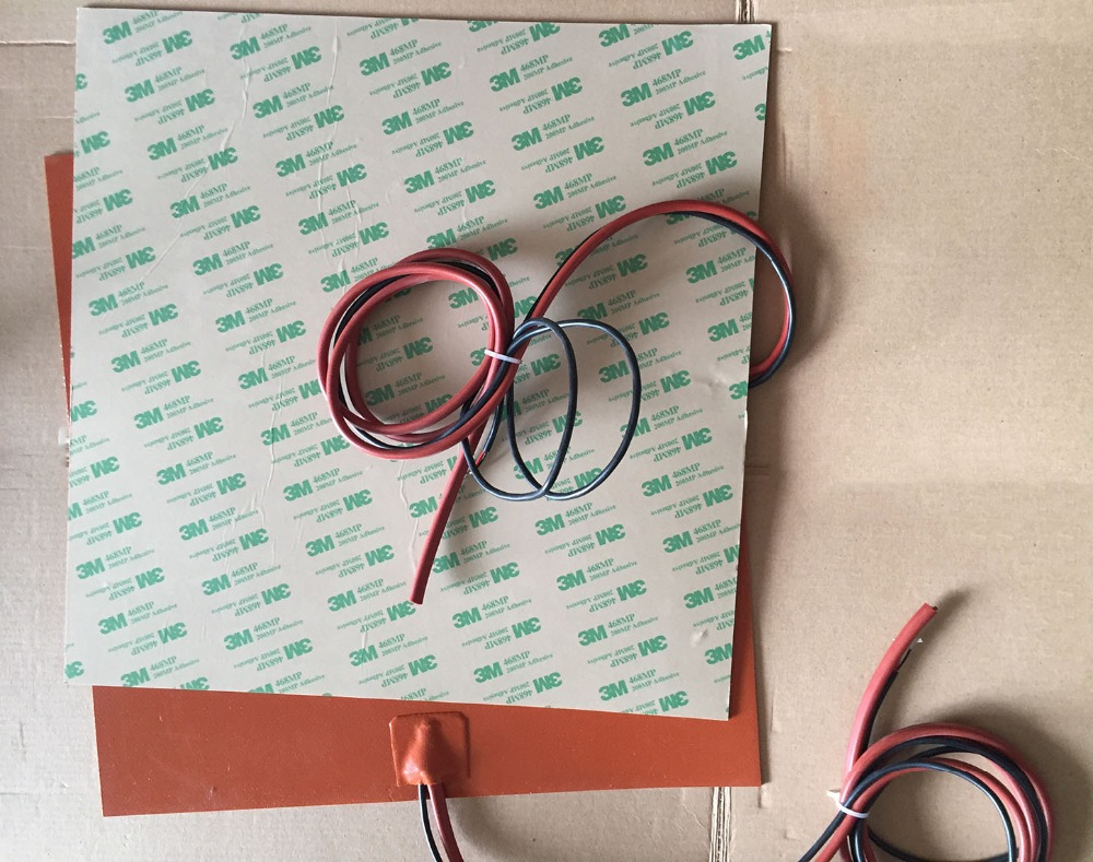 Silicone personalizzato calda letto/lettino riscaldato per stampante 3d 600x600mm 230v 600w silicone hater pad/mat /plate детские кроватки foppapedretti fred lettino