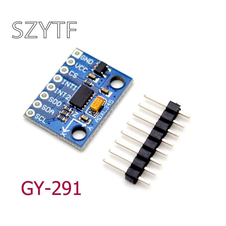 Tilt-Module Transmission IIC Three-Axis ADXL345 Acceleration GY-291 1pcs SPI Gravity