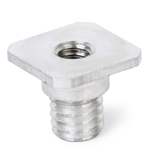 """1/four """"to three/eight"""" feminine to male Convert screw adapter for tripod monopod"""