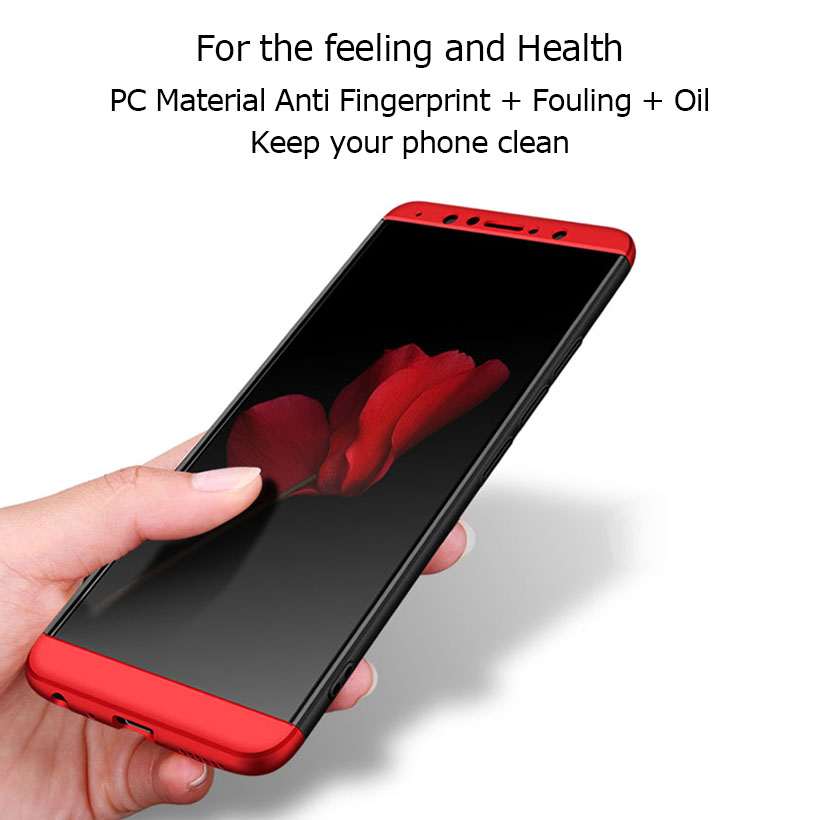 Not Protector For Vivo NEX A S Case 360 Degree Full Back Cover Case For Vivo X20 X21 X6 X7 X9 V5 Y67 V7 Plus Y79 Shell in Fitted Cases from Cellphones Telecommunications