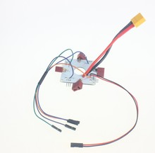 F15364 XT60 Plug Power Distribution Board for RC Quadcopter APM PX4 & Paparazzi Flight Controller Board
